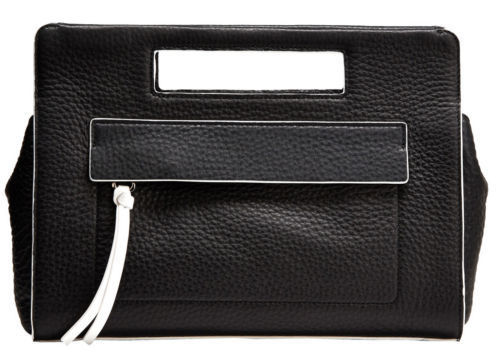 ★Coach★BLEECKER POCKET CLUTCH IN EDGEPAINT LEATHER
