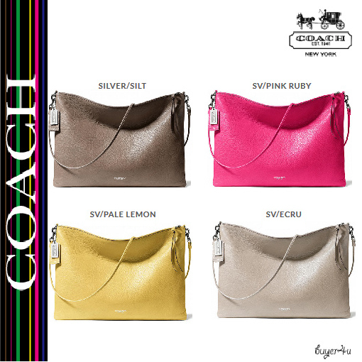 ★Coach★BLEECKER DAILY SHOULDER BAG IN LEATHER