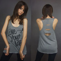 即発[REBEL YELL/BACK SLIT TUNIC【LOVE YOUR LIFE】1B437-45