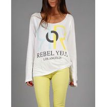 即発[REBEL YELL 長袖BOYFRIEND TEE 【RR LOGO】1C445-516