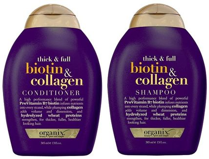 (送料込)biotin & collagen Shampoo & Conditioner (2 x 385ml)