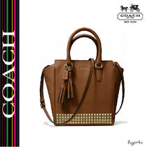 ★Coach★LEGACY MINI TANNER CROSSBODY IN STUDDED LEATHER