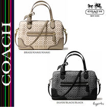 ★Coach★POPPY EAST/WEST SATCHEL IN SIGNATURE C