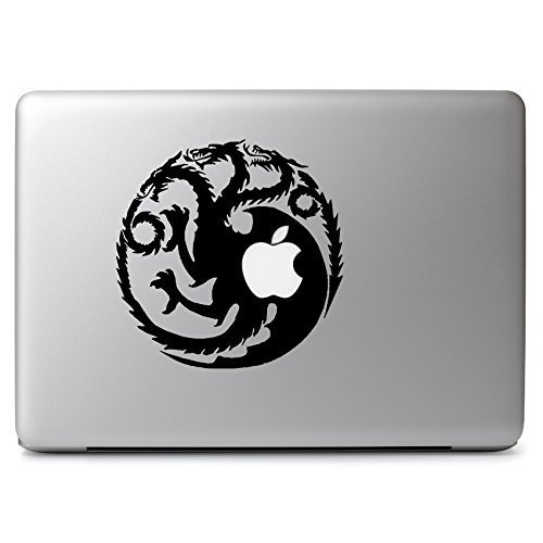 MacBook 対応 アートステッカー Game of Thrones Ice