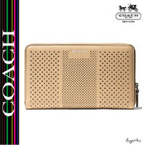 ★Coach★BLEECKER CONTINENTAL ZIP WALLET