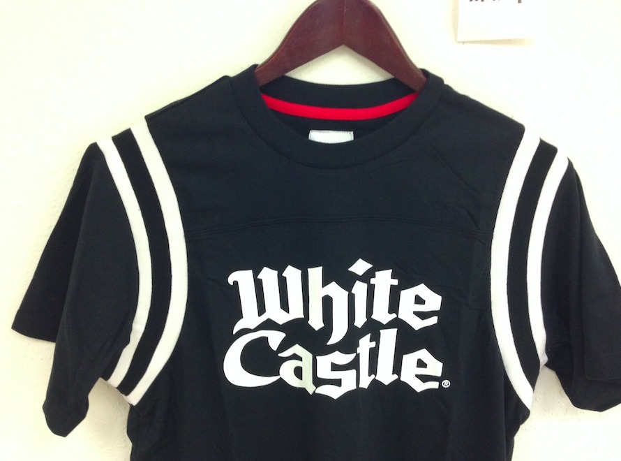 15SS 即発 追尾/関税込☆Supreme White Castle Football Top