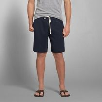 【国内即発送!】A&F FLEECE CLASSIC FIT SHORTS★NAVY★M