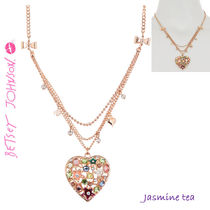 ★新入荷★BETSEY JOHNSON Multi Layer Heart Pendant...★