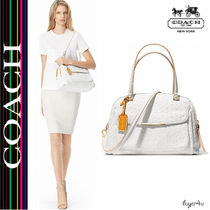 ★Coach★MADISON GEORGIE IN OSTRICH EMBOSSED LEATHER