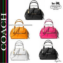 ★Coach★MADISON SMALL GEORGIE IN LEATHER