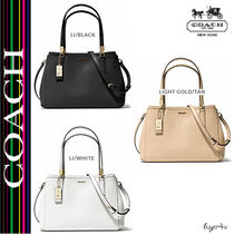 ★Coach★MADISON SMALL CHRISTIE CARRYALL IN SAFFIANO LEATHER