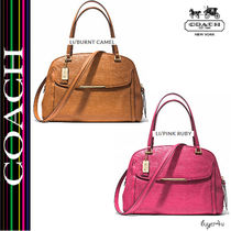 ★Coach★MADISON GEORGIE IN EMBOSSED LEATHER