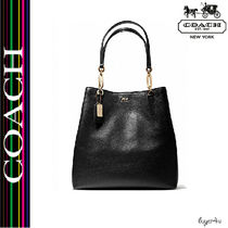 ★Coach★MADISON NORTH/SOUTH TOTE IN LEATHER