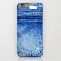 【海外限定】society6★jeans_smile iPhoneケース