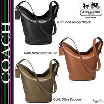 ★Coach★BLEECKER DUFFLE IN LEATHER