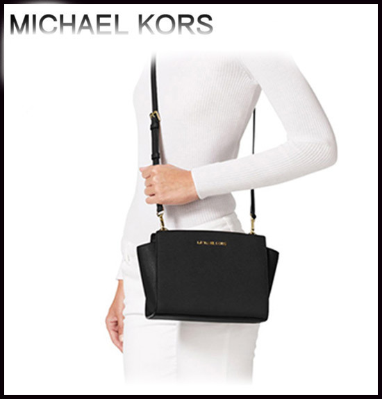 MICHAEL KORS ★ SELMA MEDIUM MESSENGER 国内発送!!関税込!