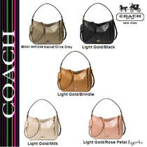 ★Coach★MADISON TOP HANDLE IN LEATHER
