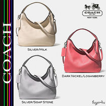 ★Coach★セール!BLEECKER sullivan hobo in pebbled leather♪