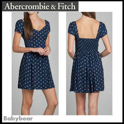 Abercrombie & Fitch ワンピース 【Abercrombie & Fitch】関税込☆TRISHA SKATER DRESS 国内発送