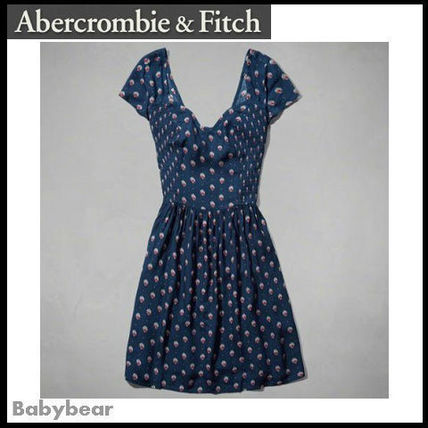Abercrombie & Fitch ワンピース 【Abercrombie & Fitch】関税込☆TRISHA SKATER DRESS 国内発送(2)