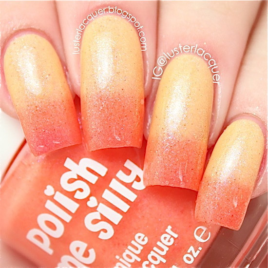 Polish Me Silly☆可愛いネイル(Sunkissed Sweetheart)