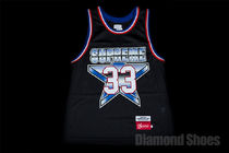 SS15 SUPREME ALL-STAR BASKETBALL JERSEY BLACK S-XL 送料無料