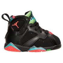 在庫有り★Marvin★キッズ★Air  JORDAN 7 RETRO TD Black