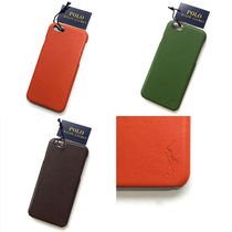 【国内在庫有り】Polo Ralph Lauren Leather iPhone 6 case