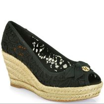 1点セール!Tory Burch☆JACKIE WEDGE ESPADRILLE 75 mm ☆