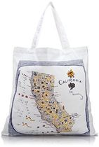 ★The Red & White Kitchen★Tote Bag California トートバッグ