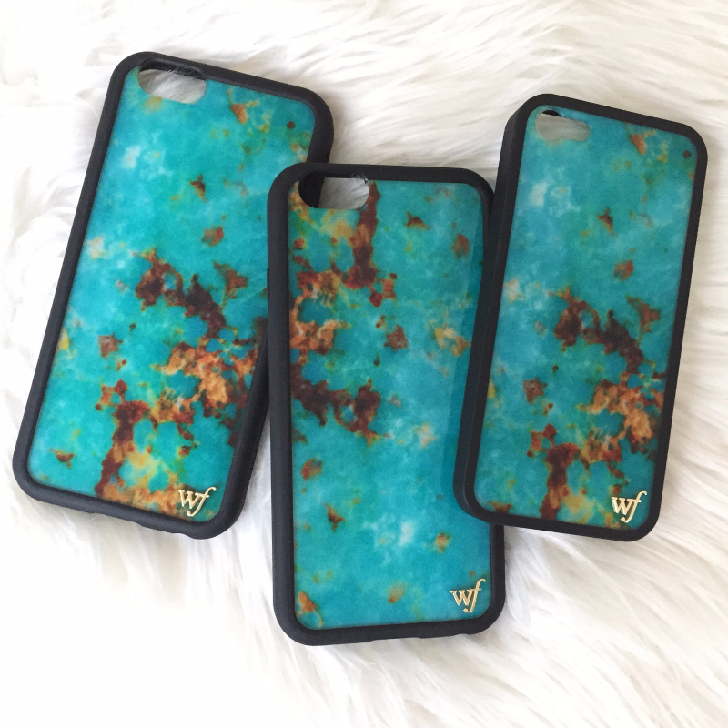 Wildflower Marble iPhone 6 Case Turquoise ハンドメイドLA