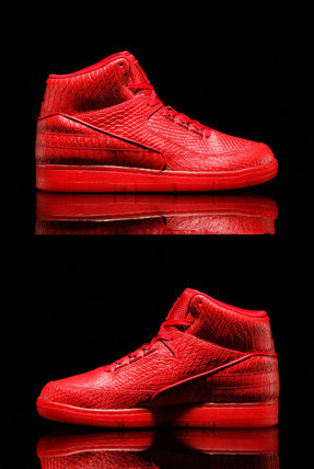 NIKE AIR PYTHON PRM Red October Yeezy Jordan 赤 ナイキ(8