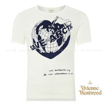 新作! Vivienne Westwood SAVE the ARCTIC 男女兼用Tシャツ/白