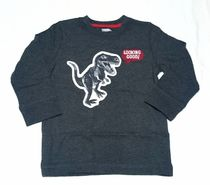 GYMBORee*Long sleeve T-shirts(Looking Good Dino/GY)