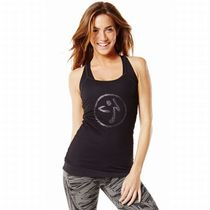 ☆ZUMBA・ズンバ☆Mesh With Me Tank Top BK