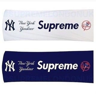 15s/s Supreme New York Yankees Hand Towel White