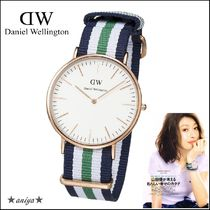 関税込 山田優着用♪Daniel Wellington(Rose-Gold) 40mm 0108DW