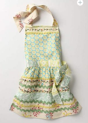 Anthropologie kids apron