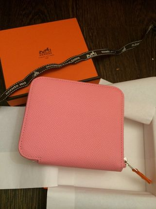 HERMES★《最新柄で即完売》絶対欲しいSILKINコンパクトPINK