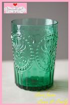 最安値保証&送料込【Anthropologie】Fleur-De-Lys Juice Glass
