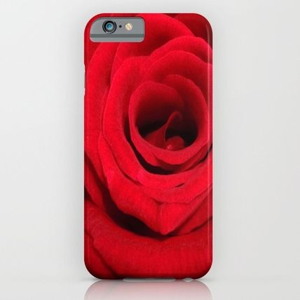 Society6 iPhone・スマホケース Society6 ケース Expansion red rose flower