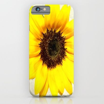 Society6 iPhone・スマホケース Society6 ケース Yellow sunflower