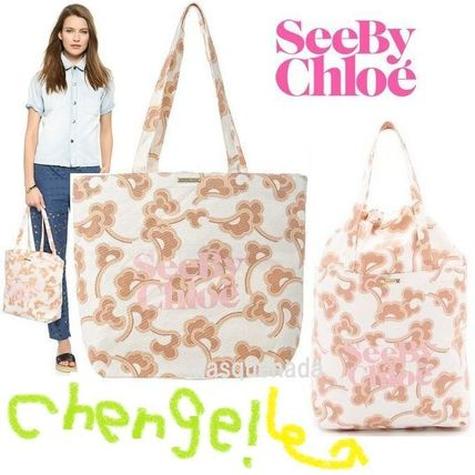 See by Chloe マザーズバッグ 安心国内発送☆ See by Chloe GIMMICK M SHOPPING トートバッグ