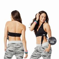 ☆ZUMBA・ズンバ☆Wrap Me Full-Coverage Reversible Bra BK