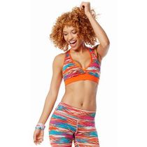 ☆ZUMBA・ズンバ☆Treaded Mid-Level V Bra PK