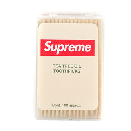 14S/S Supreme 爪楊枝 ノベルティ Tea Tree Oil Toothpicks