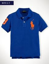 国内即発♪ BIG PONY COTTON POLO SHIRT boys