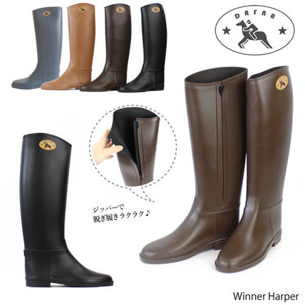 【Dafna-ダフナ-】Winner Zipper With Dafna Logo[レインブーツ]