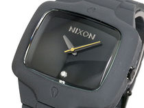 NIXON ニクソン 腕時計 RUBBER PLAYER A139-195 GRAY/BLACK