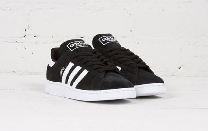 【送料無料】Adidas Campus Black/White/Black★スニーカー